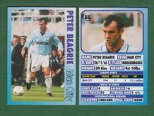 Manchester City Peter Beagrie 55